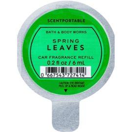Bath & Body Works Spring Leaves ambientador auto 6 ml recarga de substituição