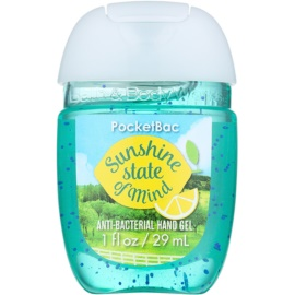 Bath & Body Works PocketBac Sunshine State of Mind Gel antibacterial pentru maini.  29 ml