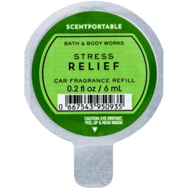 Bath & Body Works Stress Relief Désodorisant voiture 6 ml recharge