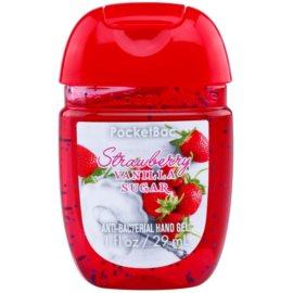 Bath & Body Works PocketBac Strawberry Vanilla Sugar antibakteriális gél kézre Strawberry Vanilla Sugar 29 ml