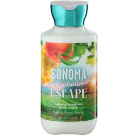 Bath & Body Works Sonama Weekend Escape tělové mléko pro ženy 236 ml
