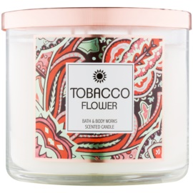 Bath & Body Works Tobacco Flower vela perfumada  411 g