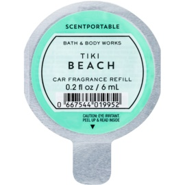 Bath & Body Works Tiki Beach Deodorante per auto 6 ml ricarica