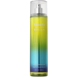 Bath & Body Works Tahiti Island Dream Körperspray für Damen 236 ml