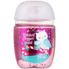 Bath & Body Works PocketBac Twisted Peppermint antibakteriálny gél na ruky  29 ml