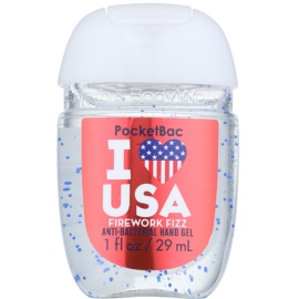 Bath & Body Works PocketBac I Love USA antibakteriális gél kézre  29 ml