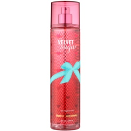 Bath & Body Works Velvet Sugar spray do ciała dla kobiet 236 ml