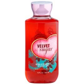 Bath & Body Works Velvet Sugar Duschgel für Damen 295 ml
