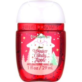 Bath & Body Works PocketBac Winter Candy Apple gel  antibacteriano para as mãos  29 ml
