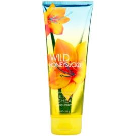 Bath & Body Works Wild Honeysuckle Körpercreme für Damen 226 g mit Sheabutter