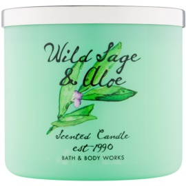 Bath & Body Works Wild Sage & Aloe Scented Candle 411 g