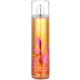 Bath & Body Works White Tea & Ginger pršilo za telo za ženske 236 ml