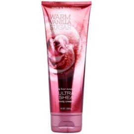 Bath & Body Works Warm Vanilla Sugar Körpercreme für Damen 226 g mit Sheabutter