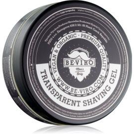 Be-Viro Men's Only Transparent Shaving Gel Transparante Gel  voor het Scheren  200 ml