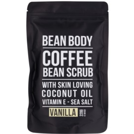 Bean Body Vanilla exfoliante corporal con efecto lifting  220 g