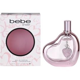 Bebe Perfumes Sheer eau de parfum pour femme 100 ml