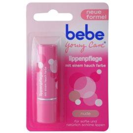 Bebe Young Care balsam de buze cu culoare fina Nude 4,9 g