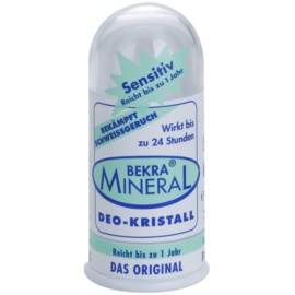 Bekra Mineral Deodorant Stick Crystal desodorante mineral cristal sólido  con aloe vera  100 g
