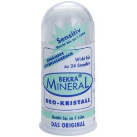 Bekra Mineral Deodorant Stick Crystal minerálny dezodorant tuhý kryštál s aloe vera  100 g
