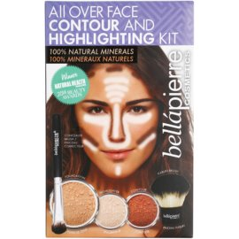 BelláPierre All Over Contour and Highlighting Kit kosmetická sada I.