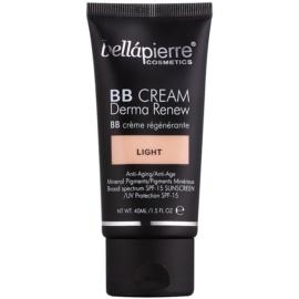 BelláPierre Derma Renew BB krém SPF 15 árnyalat Light 40 ml
