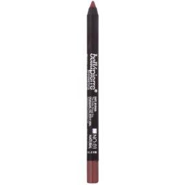 BelláPierre Gel Lip Liner vízálló zselés kontúr ceruza az ajkakra árnyalat No.01 Natural 1,8 g