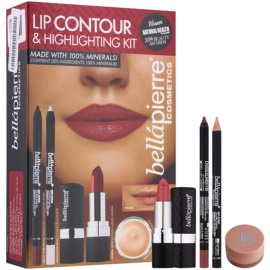 BelláPierre Lip Contour & Highlighting Kit Kosmetik-Set  I.
