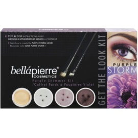 BelláPierre Get The Look Kit Purple Storm kozmetika szett II.