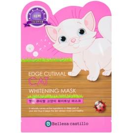 Belleza Castillo Edge Cutimal Cat arcmaszk fehérítő hatással  25 g