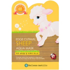 Belleza Castillo Edge Cutimal Sheep hidratáló arcmaszk  25 g