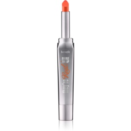 Benefit They're Real! Double The Lip šminka za polne ustnice odtenek Flame Game/Fiery Orange-Red 1,5 g