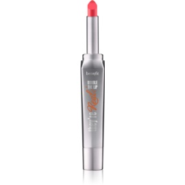 Benefit They're Real! Double The Lip rossetto per labbra carnose colore Revved-up Red 1,5 g