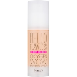 Benefit Hello Flawless Oxygen Wow tekutý make-up SPF 25 odstín Ivory
