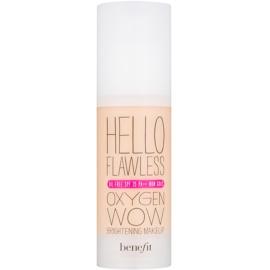 Benefit Hello Flawless Oxygen Wow tekutý make-up SPF 25 odstín Petal