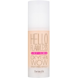 Benefit Hello Flawless Oxygen Wow Flüssiges Make Up SPF 25 Farbton Petal