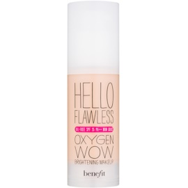 Benefit Hello Flawless Oxygen Wow Flüssiges Make Up SPF 25 Farbton Champagne
