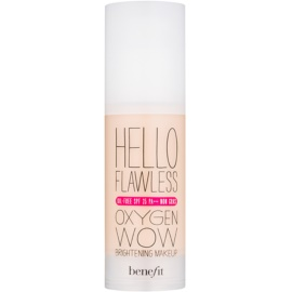 Benefit Hello Flawless Oxygen Wow Flüssiges Make Up SPF 25 Farbton Beige