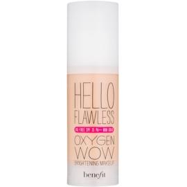 Benefit Hello Flawless Oxygen Wow tekutý make-up SPF 25 odstín Honey