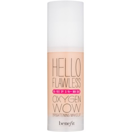 Benefit Hello Flawless Oxygen Wow Flüssiges Make Up SPF 25 Farbton Honey