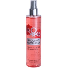 Benetton Arousing Watermelon Körperspray für Damen 250 ml