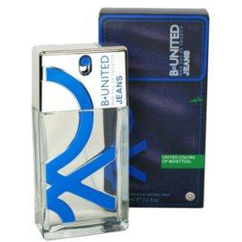 Benetton B. United Jeans Man Eau de Toilette für Herren 100 ml