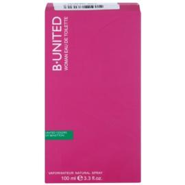 Benetton B. United Women toaletní voda tester pro ženy 100 ml