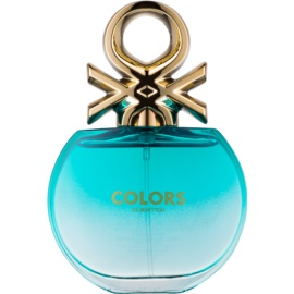 Benetton Colors de Benetton Blue Eau de Toilette voor Vrouwen  80 ml