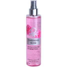 Benetton Cheering Rose Body Spray for Women 250 ml