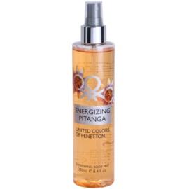 Benetton Energizing Pitanga spray corporal para mujer 250 ml