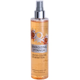 Benetton Energizing Pitanga tělový sprej pro ženy 250 ml