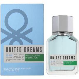 Benetton United Dreams Men Go Far eau de toilette pour homme 100 ml