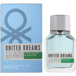 Benetton United Dreams Men Go Far eau de toilette para hombre 100 ml