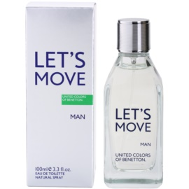 Benetton Let´s Move Eau de Toilette für Herren 100 ml