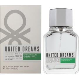Benetton United Dream Men Aim High Eau de Toilette for Men 100 ml